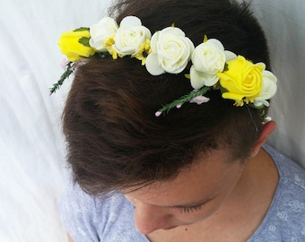 Bohemian Gypsy Flower Crown