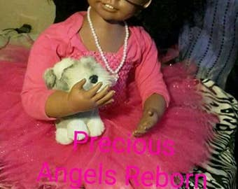 AA Reborn Child Size Reborn Babygirl Made From A Ashton  Drake  Doll