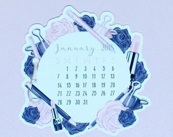 Planner Girl Calendar Die Cuts