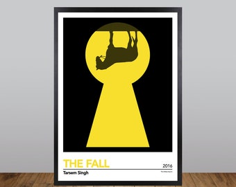 The Fall Print, Minimalist Movie Poster Unofficial Fan Art
