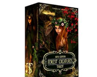 Forest Creatures Tarot Deck. Mini version