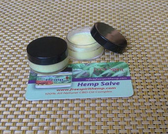 Hemp Skin & Hair Treatment  (2-10mg Sample Size) FREE SHIPPING!
