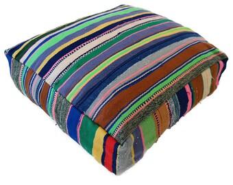 Moroccan Floor Cushion  - 28 - '23.6 x 23.6 x 7.9 inch''