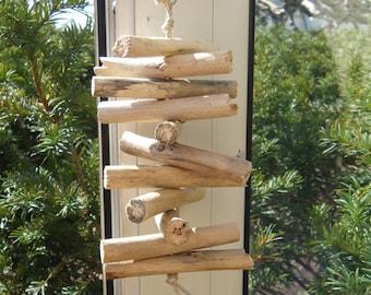 Keychain bag charm Driftwood