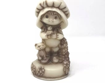 Strawberry shortcake candle new brown tan beige vintage 90's