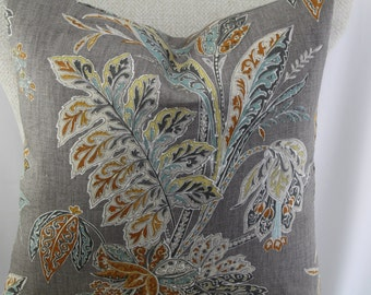 Ishana turmeric by Kravet  fabric 18x18-19x19-20x20-14x20,pillow cover, decorative pillow, throw pillow, same fabric front and back