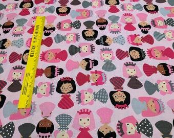 Girl Friends-Sweet Cotton Fabric from Robert Kaufman