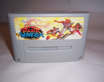 Pirates of Dark Water (Super Nintendo, SNES 1994) PAL