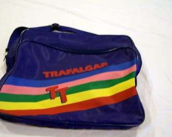Trafalgar carry on/travel bag, c. 1970s