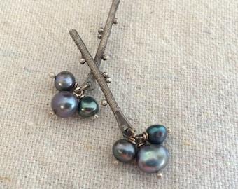 Twigs and Berries Earrings