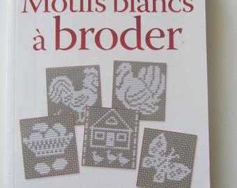 """""""White embroidery designs"""" book - 190 white monochrome pattern"""