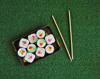 NEW! Sushi Roll Sidewalk Chalk