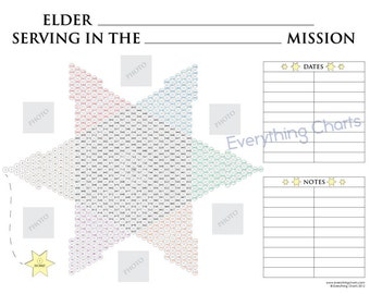 Missionary Countdown Chart for Elders - PDF File/Printable