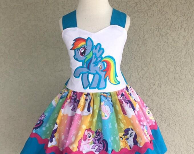 My Little Pony Rainbow Dash Poppy Dress