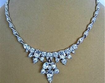Vintage BOGOFF Crystal Necklace