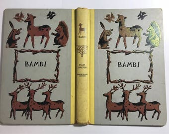 Junk Journal - Journal book binding - DIY Junk journals - Bambi book cover