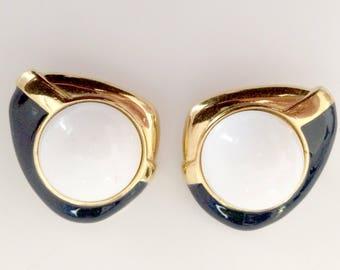 Earrings by Monet