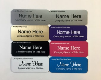 business name badge etsy