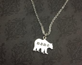 Mama Bär Halskette - Say Anything Jewelry® - Mama Bär Schmuck - Mama Bär - Mama Bär Geschenk - Baby Shower Geschenk - Geschenk für Mama