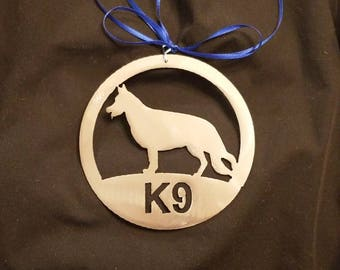 K9 Law Enforcement Ornament