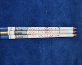 Queen Elizabeth II Coronation Souvenir Pencils