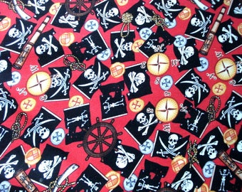 It's a Pirate's Life  Cotton Fabric