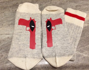 Deadpool (Socks)