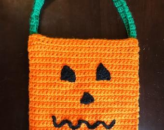 Trick-or-Treat Bag, Trick or Treat, Halloween bag, Trick-or-treat Bucket, Halloween Candy Bag, Halloween toddler, Halloween tote, Halloween