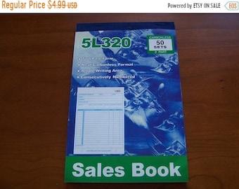 TAX SEASON Stock up 50 Receipt 2 Copy Carbonless Sales Retail Merchandise Receipt Book