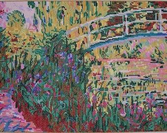 The Japanese Bridge by Monet--LB02184