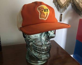 Vintage 80s E.T. Trucker Hat The extraterrestrial cap