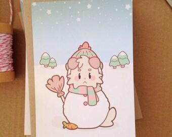 Christmas Card | Snow Doggo