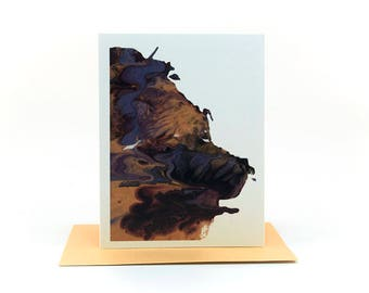 thinking of you card | just because cards | sympathy cards | friendship birthday | colorful abstract | abstract painting