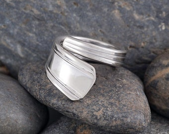 Silverware Handle Ring (Spoon Ring) Size 5 3/4 SR172