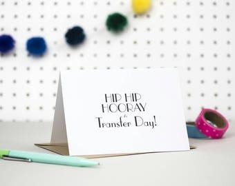 IVF card | Transfer day | IVF support card | IVF journey | Blank card | Friendship card