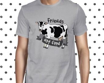 Animals Rights Shirt Vegan Shirt for Men Be Vegan T-shirt Cool Vegan Shirt Vegan Men's T-shirt Plant Based Shirt Vegan Tee for Men Planteefu