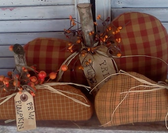 Primitive Fall Pumpkins E-Pattern