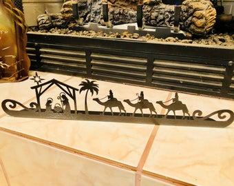 Metal Nativity