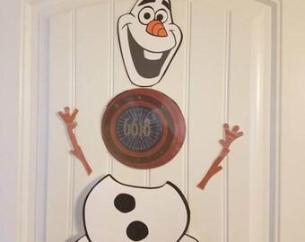 Olaf Body Magnet// Disney Cruise Door Magnet// Disney Frozen// Cruise Magnet// Stateroom Door Decoration// Disney Theme Magnet// Olaf Disney