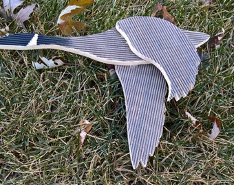 Handmade wooden goose, fall decorations, home decor, outdoor decoration, cabin decoration,