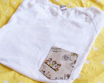 Chipmunk Trouble Tee Pocket