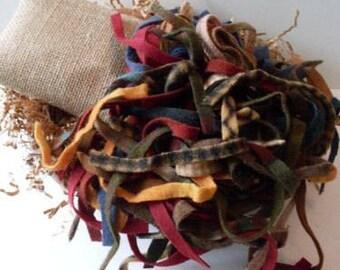 Primitive Folkart Hooked Rug Kit Rustic Farmhouse Decor Beaconhillcollect We Ship Internationally