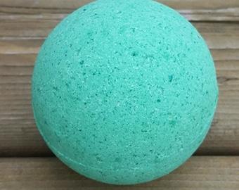 Green Apple bath bomb