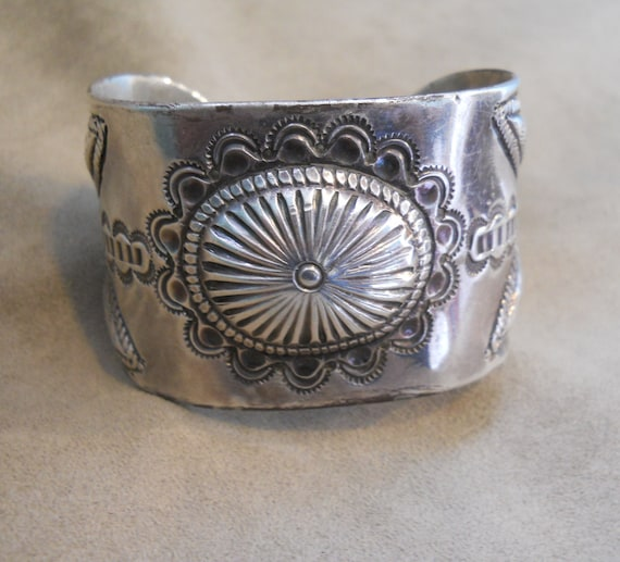 Early Stamped Navajo Bracelet