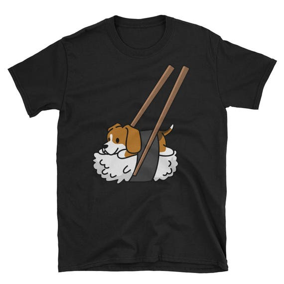 Funny Sushi Beagle T Shirt, Cute Beagle Gifts, Beagle Dog Shirt by Etsy