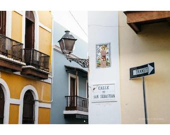 Architecture Photography, Old San Juan, Puerto Rico, Pastel Buildings, San Juan Photography, Puerto Rico Art, Travel Photography
