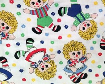 Doll Rag Doll Raggedy Ann Dolly Vintage Dolls Girls Toys Raggedy Andy Holly's Dollies BTY