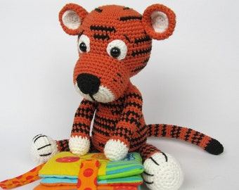 Little Tiger Tomy - Amigurumi Crochet Pattern / E-Book / Stuffed Animal Tutorial