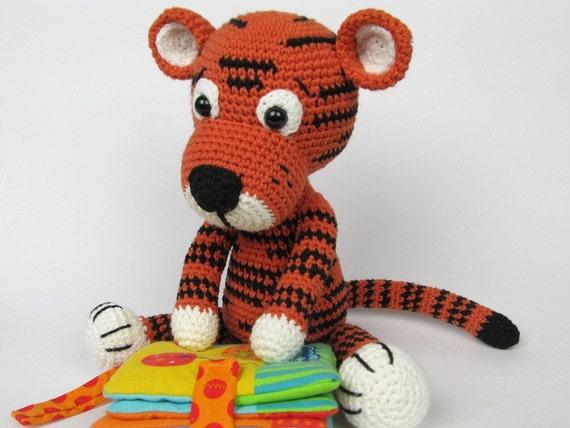 Amigurumi For Dummies Book : Little tiger tomy amigurumi crochet pattern e book stuffed