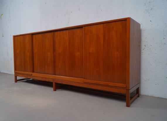 Sideboard 60er jahre teak midcentury danish modern vintage for Sideboard 60er jahre